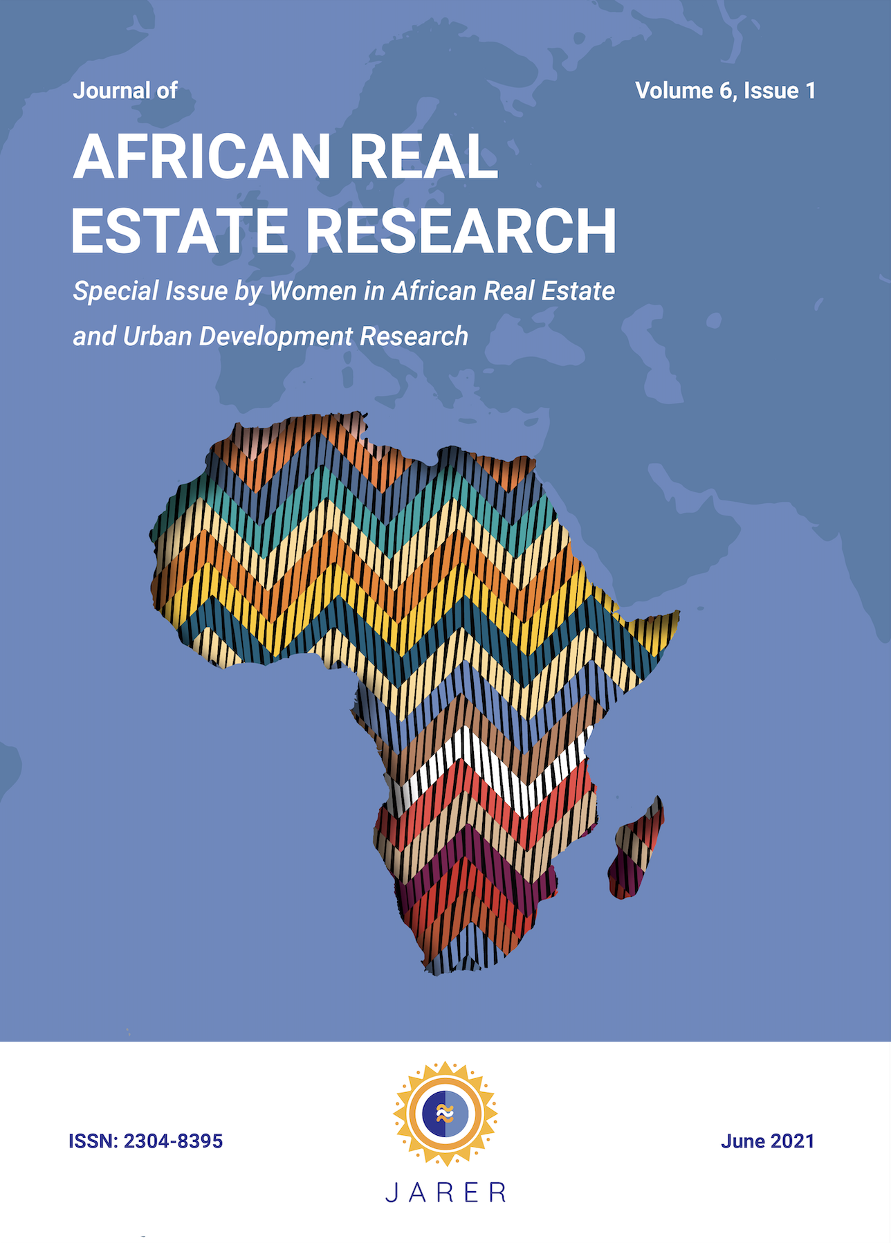 View Vol. 6 No. 1 (2021): Special Issue: Women in African Real Estate and Urban Development Research